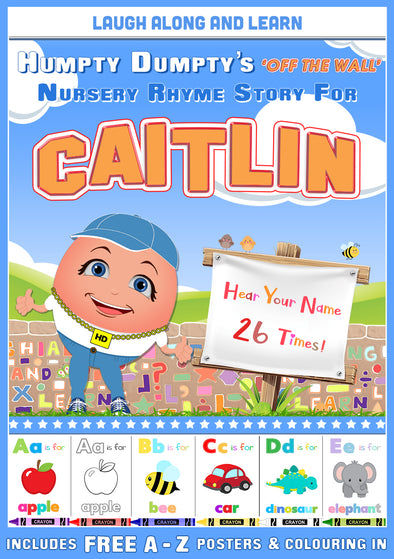 Personalised Nursery Rhyme Story for Caitlin