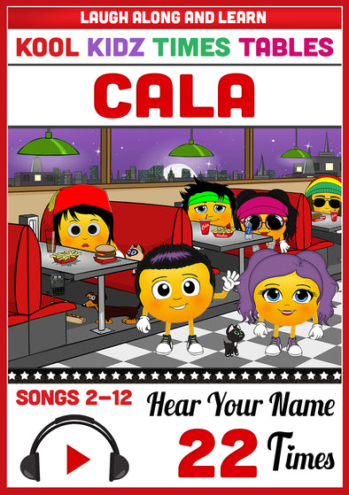 Kool Kidz Personalised for Cala
