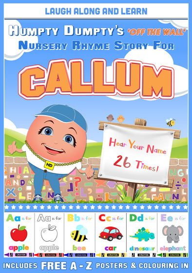 Personalised Nursery Rhyme Story for Callum