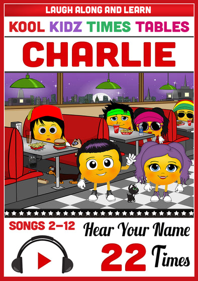 Kool Kidz Personalised for Charlie