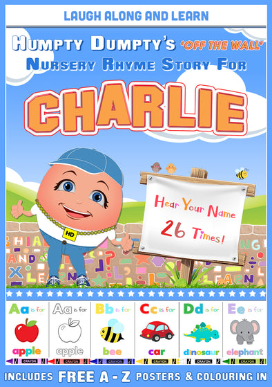 Personalised Nursery Rhyme Story for Charlie