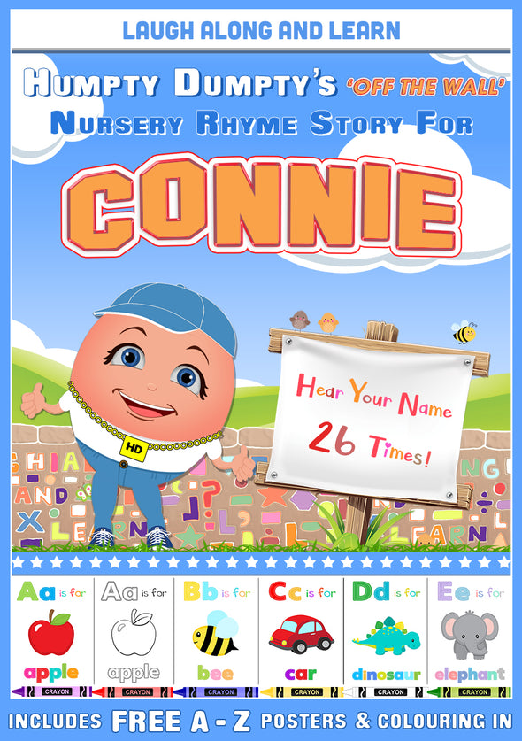 Personalised Nursery Rhyme Story for Connie