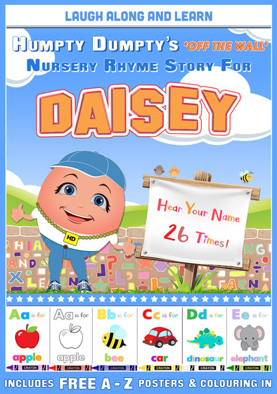 Personalised Nursery Rhyme Story for Daisey