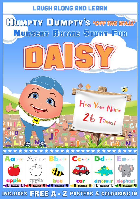 Personalised Nursery Rhyme Story for Daisy