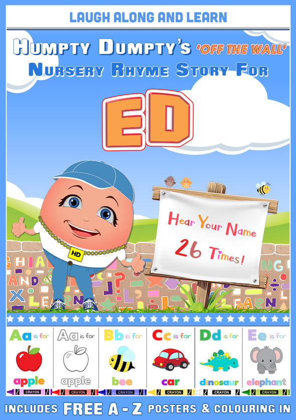 Personalised Nursery Rhyme Story for Ed