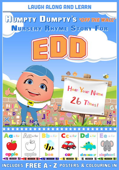 Personalised Nursery Rhyme Story for Edd