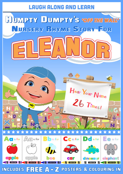 Personalised Nursery Rhyme Story for Eleanor (Pronounced as Elen-OR)