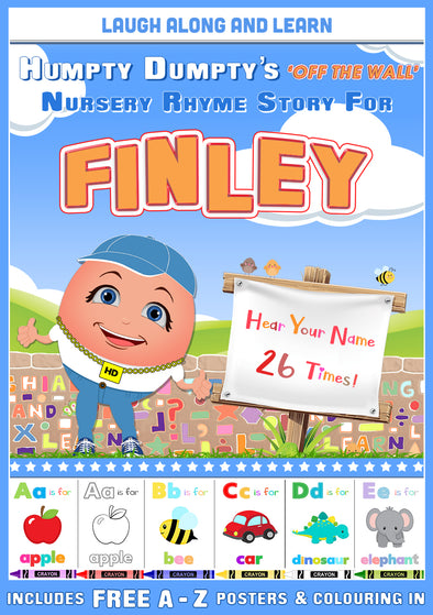 Personalised Nursery Rhyme Story for Finley