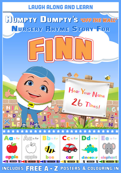 Personalised Nursery Rhyme Story for Finn