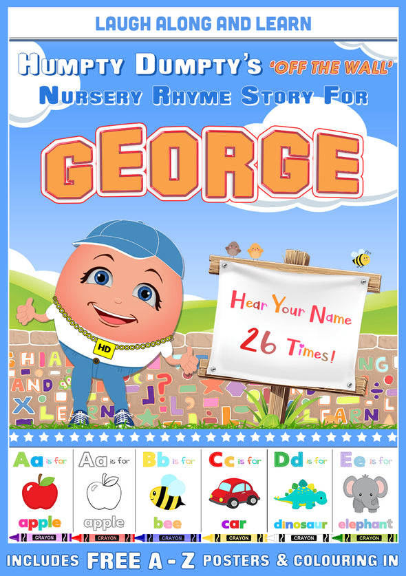 Personalised Nursery Rhyme Story for George