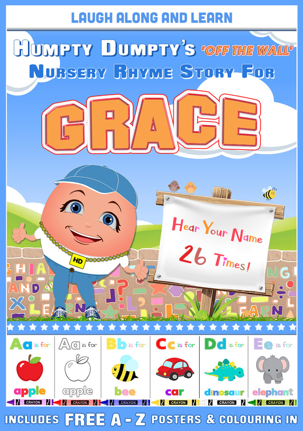 Personalised Nursery Rhyme Story for Grace