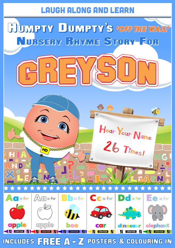 Personalised Nursery Rhyme Story for Greyson