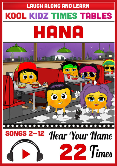 Kool Kidz Personalised for Hana