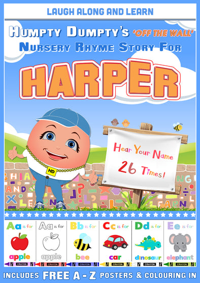 Personalised Nursery Rhyme Story for Harper