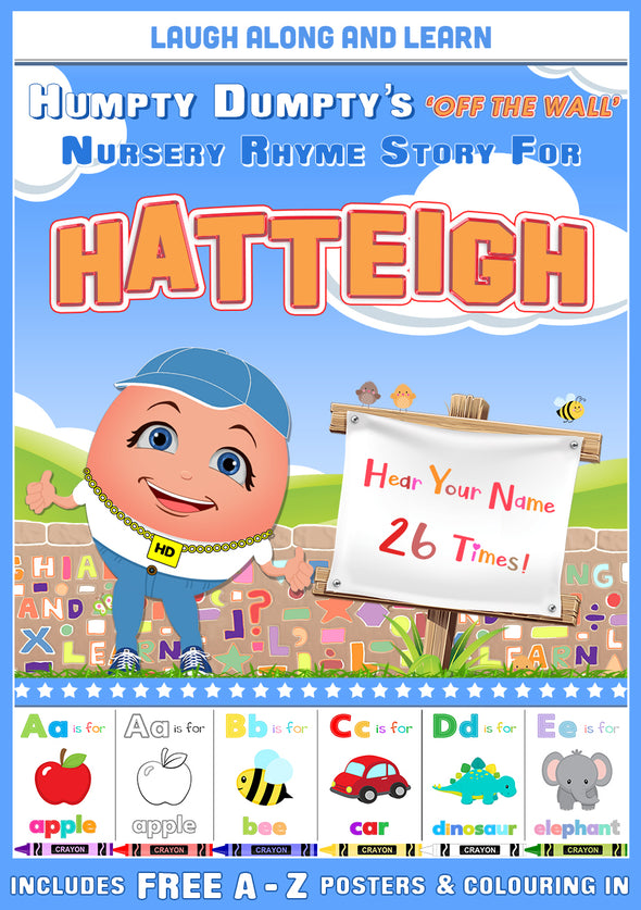Personalised Nursery Rhyme Story for Hatteigh