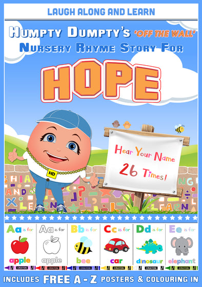 Personalised Nursery Rhyme Story for Hope
