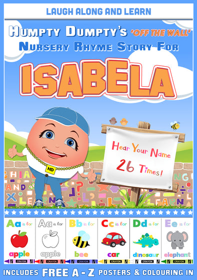 Personalised Nursery Rhyme Story for Isabela
