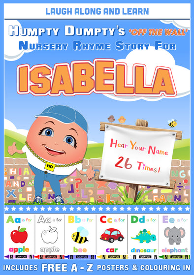 Personalised Nursery Rhyme Story for Isabella