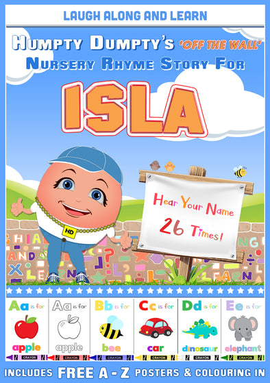 Personalised Nursery Rhyme Story for Isla