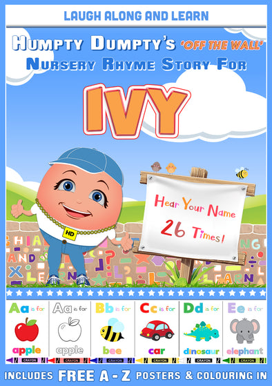 Personalised Nursery Rhyme Story for Ivy