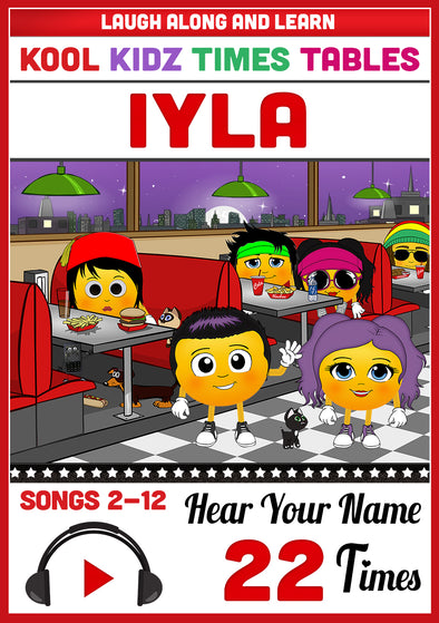Kool Kidz Personalised for Iyla