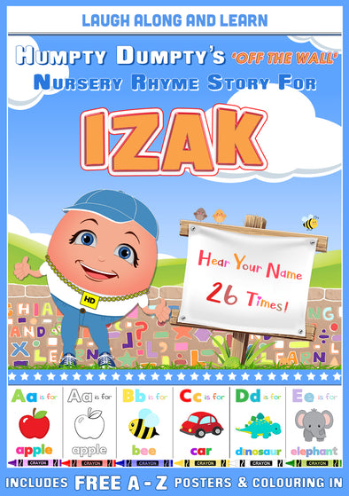 Personalised Nursery Rhyme Story for Izak