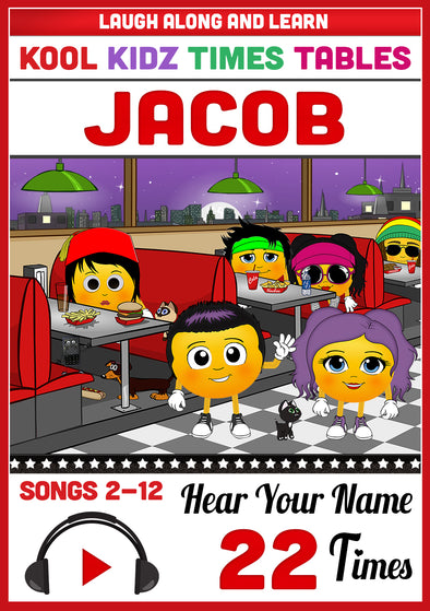 Kool Kidz Personalised for Jacob