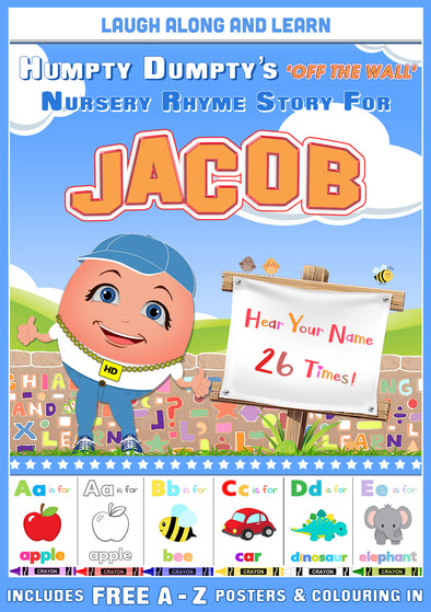 Personalised Nursery Rhyme Story for Jacob