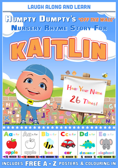 Personalised Nursery Rhyme Story for Kaitlin