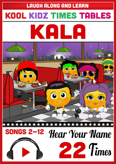 Kool Kidz Personalised for Kala