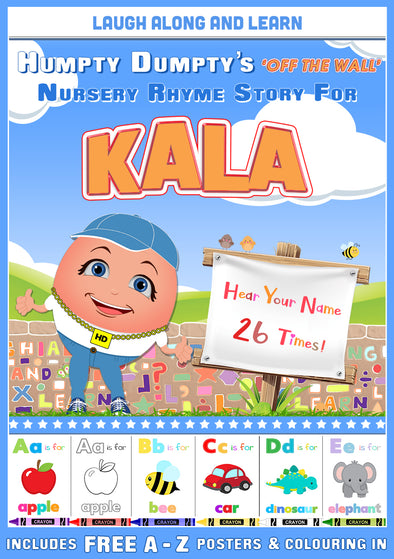 Personalised Nursery Rhyme Story for Kala