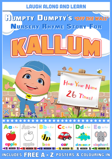 Personalised Nursery Rhyme Story for Kallum