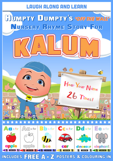 Personalised Nursery Rhyme Story for Kalum