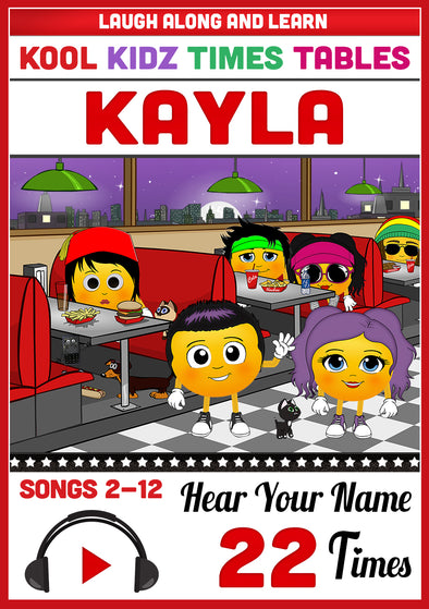 Kool Kidz Personalised for Kayla