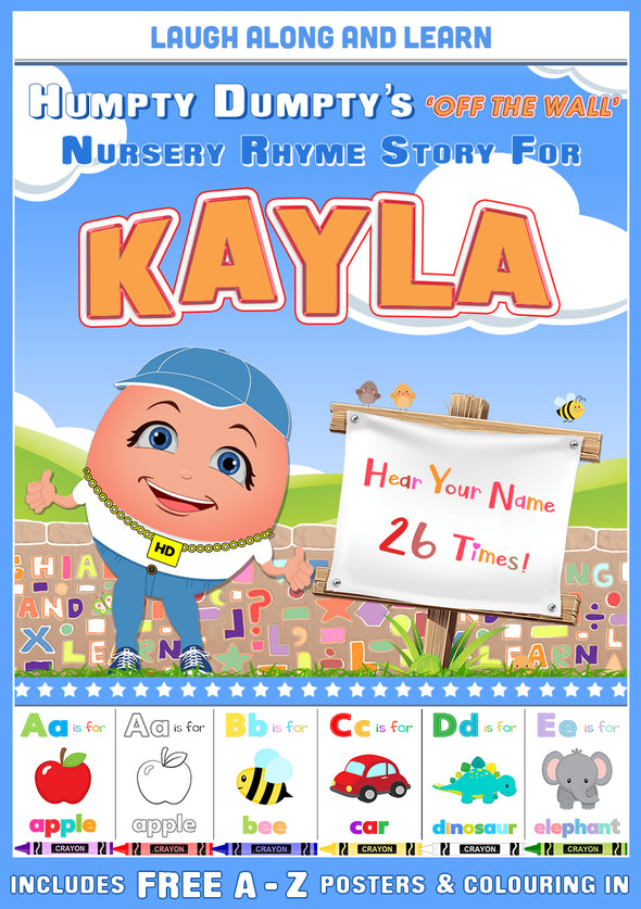 Personalised Nursery Rhyme Story for Kayla