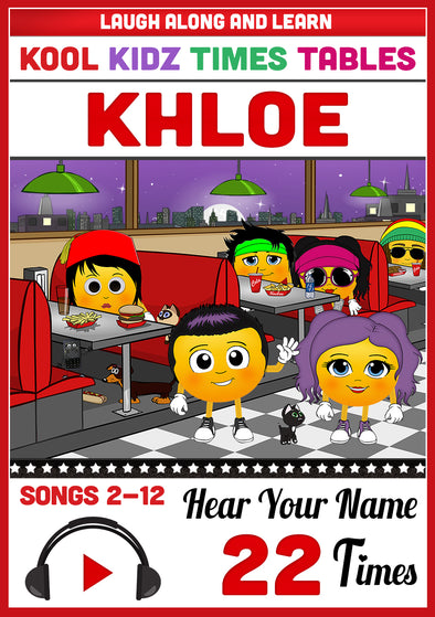 Kool Kidz Personalised for Khloe