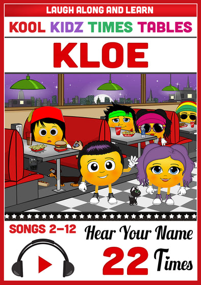 Kool Kidz Personalised for Kloe
