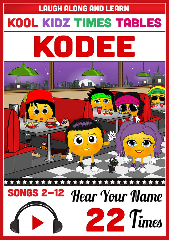 Kool Kidz Personalised for Kodee