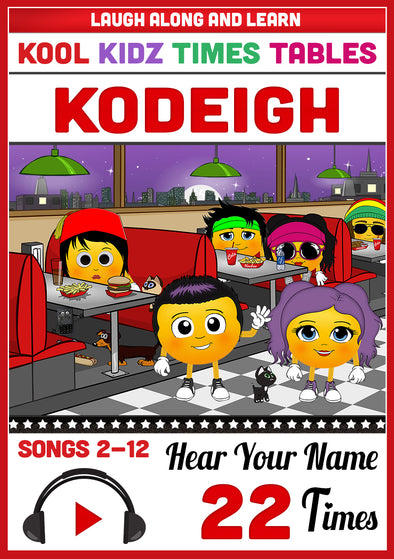Kool Kidz Personalised for Kodeigh