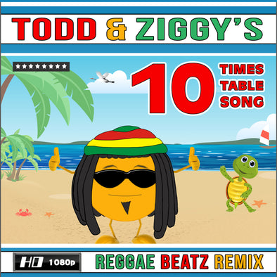 Todd & Ziggy's-10 Times Table Video