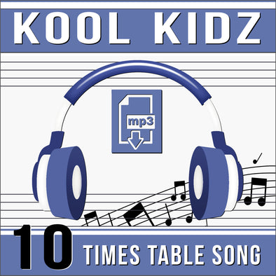 Kool Kidz-10 Times Tables (Audio)