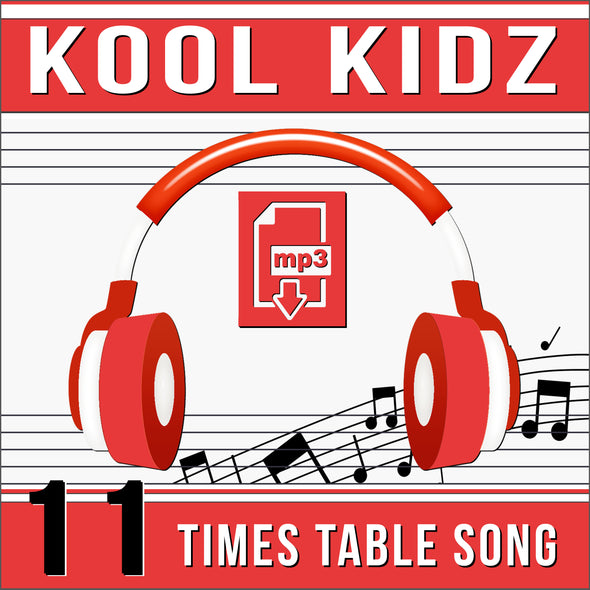 Kool Kidz-11 Times Tables (Audio)