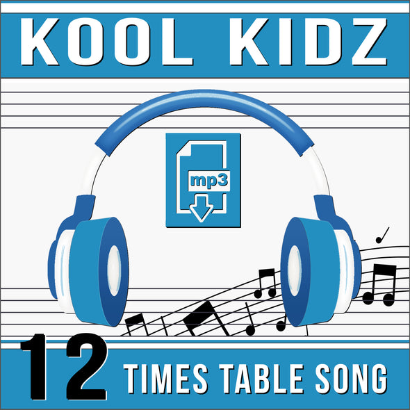 Kool Kidz-12 Times Tables (Audio)