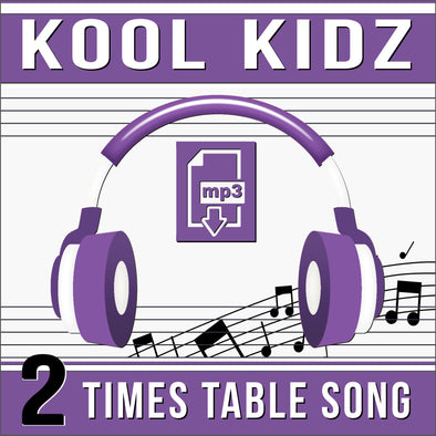 Kool Kidz 2 Times Tables (Audio)