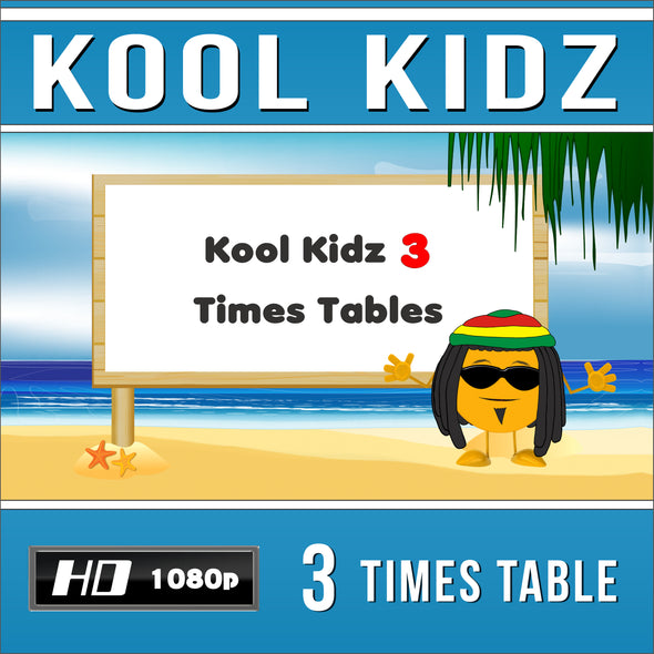 Kool Kidz 3 Times Table Video