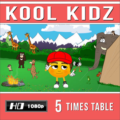 Kool Kidz 5 Times Table Video