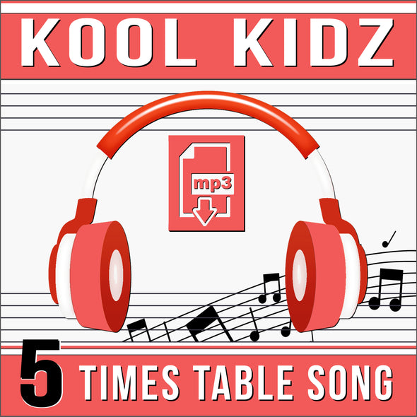 Kool Kidz 5 Times Tables (Audio)