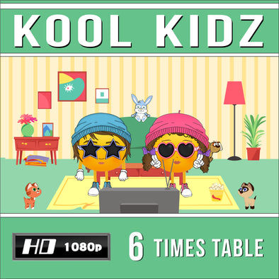 Kool Kidz 6 Times Table Video