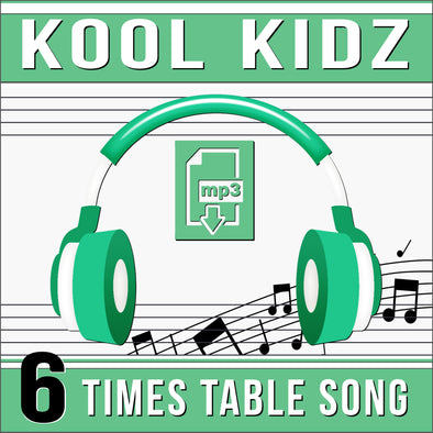 Kool Kidz 6 Times Tables (Audio)