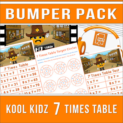 7 Times Table Bumper-Pack